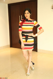 Adha Sharma in a Cute Colorful Jumpsuit Styled By Manasi Aggarwal Promoting movie Commando 2 (140).JPG