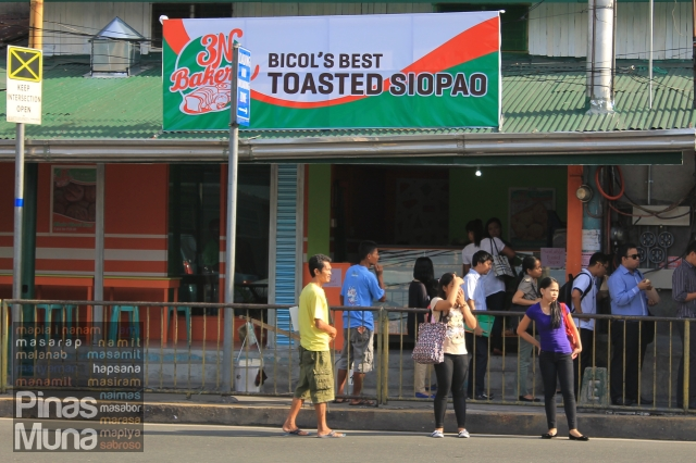 Toasted Siopao in Pasig