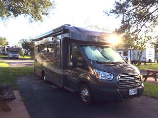 Winnebago Fuse at Lazy Days Campground