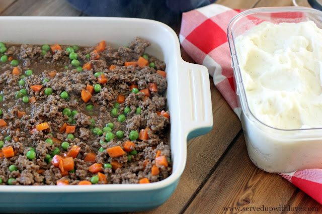 Shepherd's Pie recipe from Served Up With Love