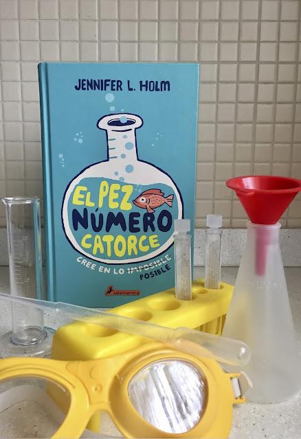 #HoyLeemos #ElPezNumero14 #JenniferLHolm #MeGustaLeerKids #BoolinoFriend