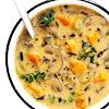 Cozy Autumn Wild Rice Soup