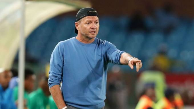 Polokwane City Head coach Jozef Vukusic