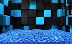 3d wallpapers background desktop wall backgrounds pc cool themes cubes