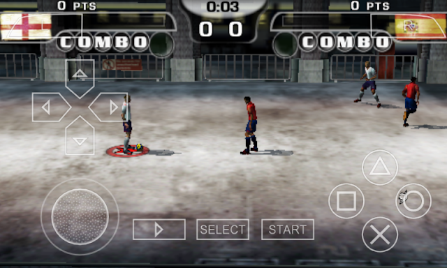 Cara Bermain Game Fifa Street 2 Di Android Menggunakan Emulator PPSSPP