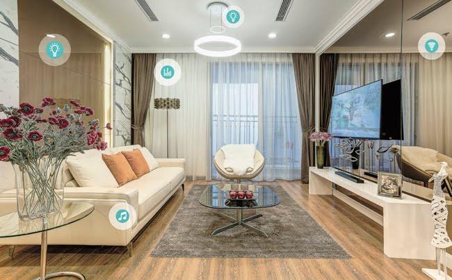 Hệ thống điều khiển SmartHome tại căn hộ chung cư One18