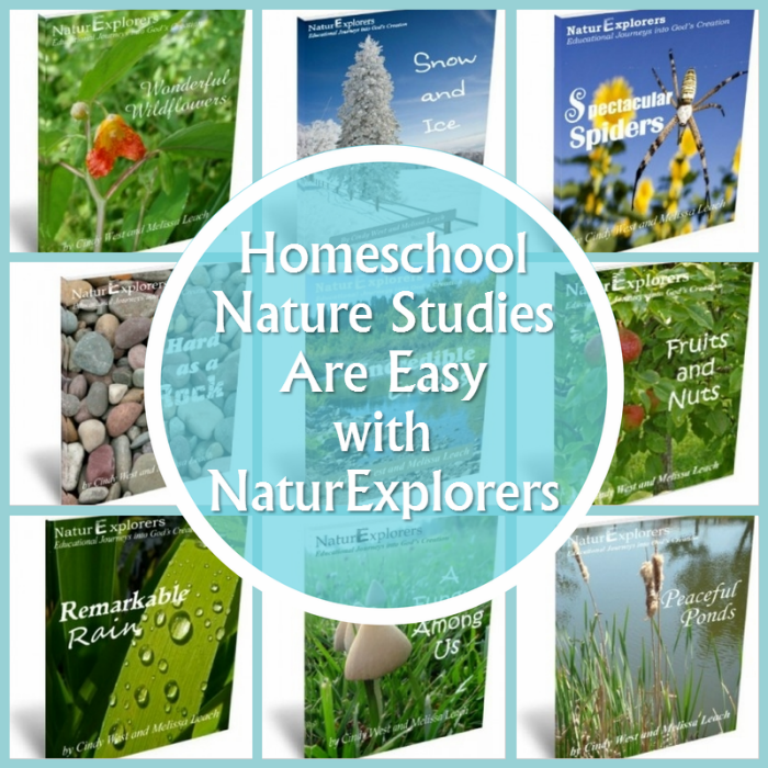 Are you looking for an easy way to conduct nature studies in your homeschool? NaturExplorers makes nature study easy.