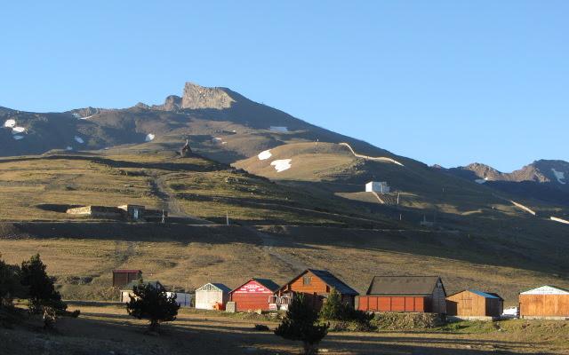 Pico Veleta en Sierra Nevada, Granada
