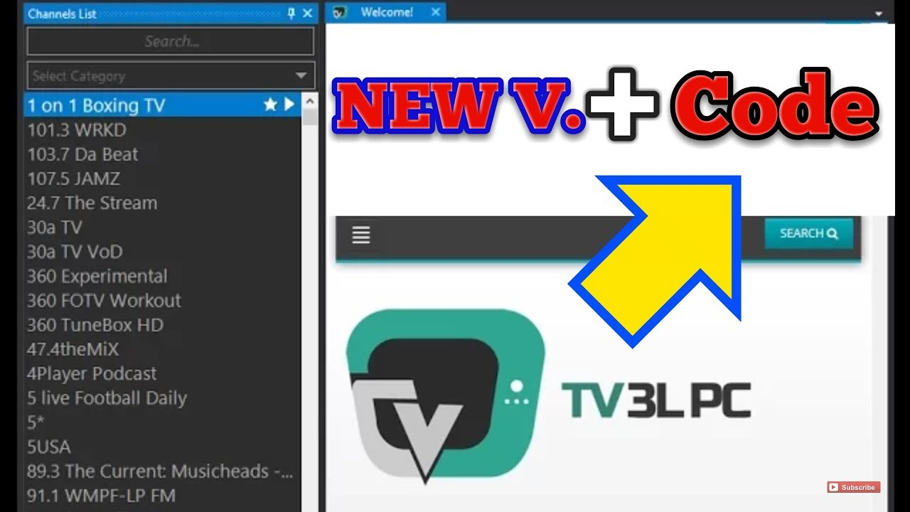 TV 3L PC + activation Code 2019 - WATCH FREE LIVE TV ON