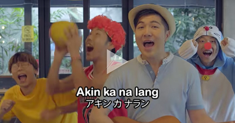 "Japanese version of ""Akin Ka Na Lang"" sounds like an anime theme song"