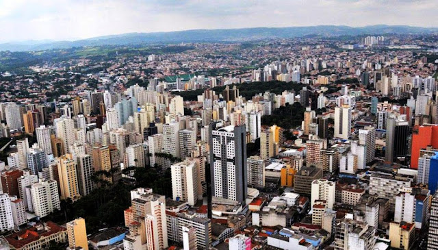 Foto aérea de Campinas