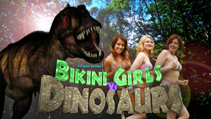 bikini girl on dinosaur planet