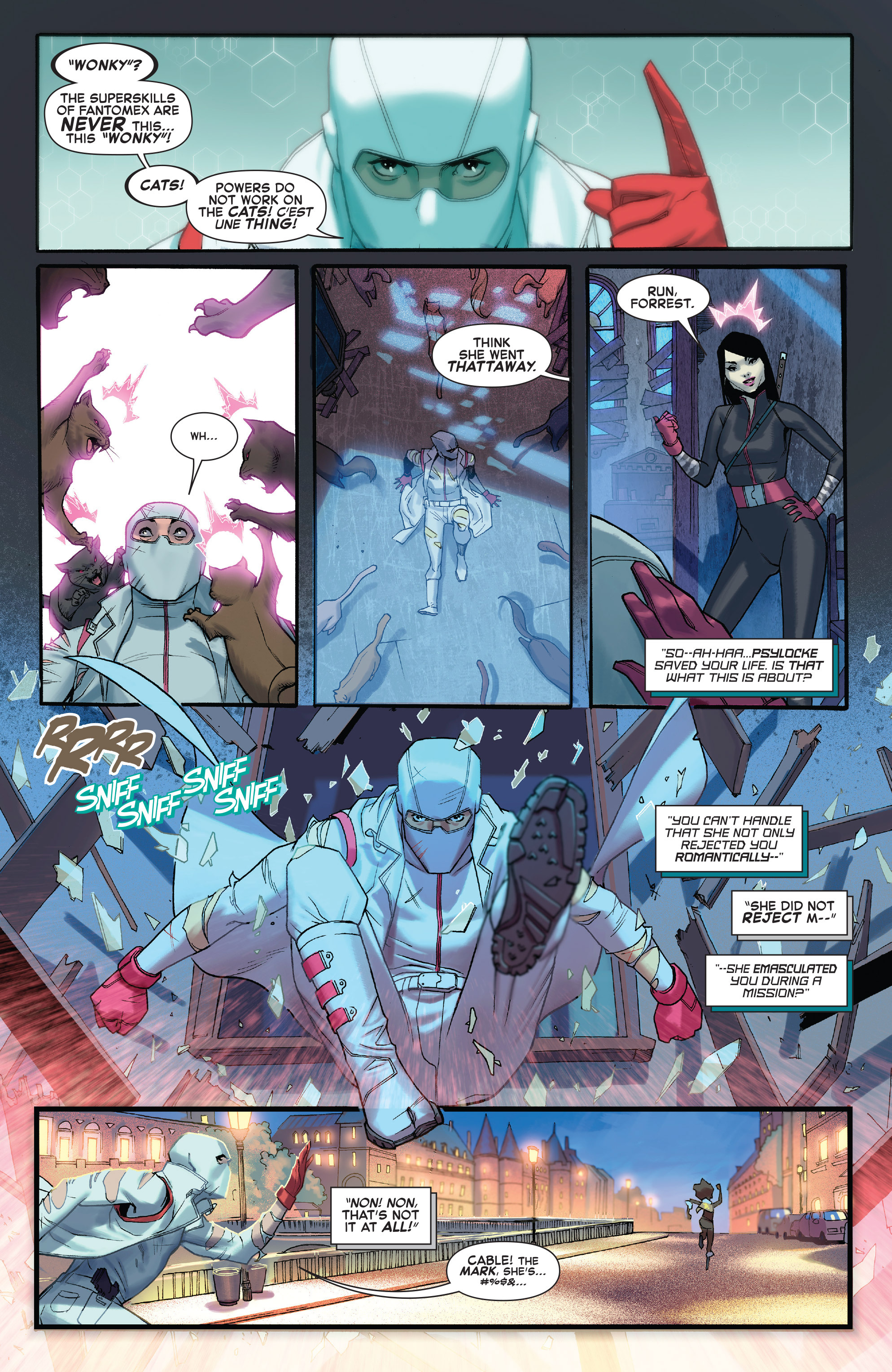 Read online X-Force (2014) comic -  Issue #4 - 10