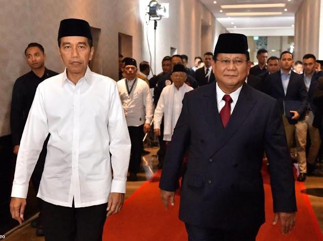 Hitung Cepat Sementara Poltracking: Jokowi-Maruf 56,36 Persen, Prabowo-Sandi 43,64 Persen