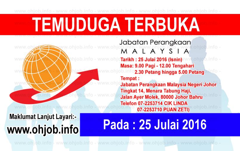 Jawatan Kerja Kosong Jabatan Perangkaan Malaysia logo www.ohjob.info julai 2016