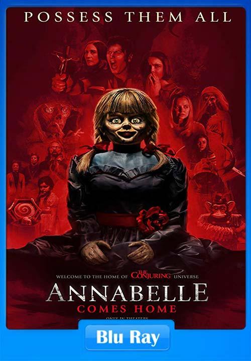 Annabelle Comes Home 2019 Hindi Dual Audio Bluray ESub x264 | 480p 300MB | 100MB HEVC