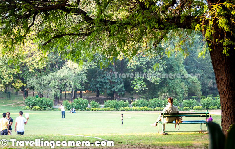 People living around Lodhi Garden prefer to come here for jogging, playing, book-reading or spending some quality time with their friends and families.