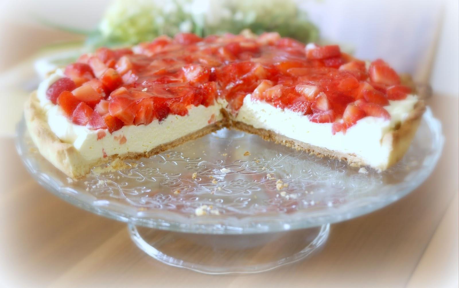 Experimente Aus Meiner Kuche Erdbeer Vanille Tarte