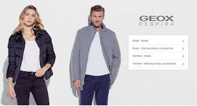 ropa barata de la marca Geox para mujer y hombre