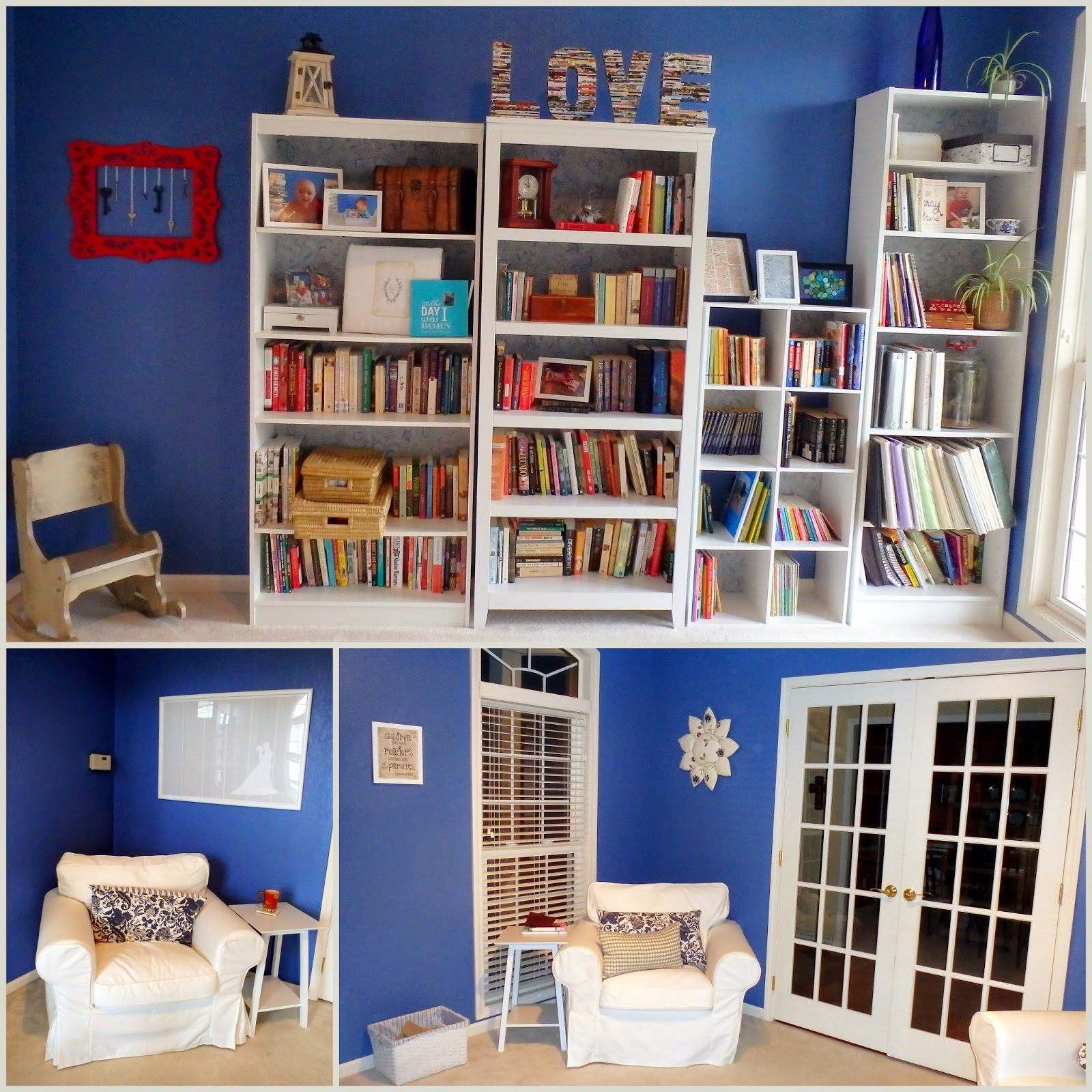 Repurposing your formal living room into a library the - What to do with a formal living room ...