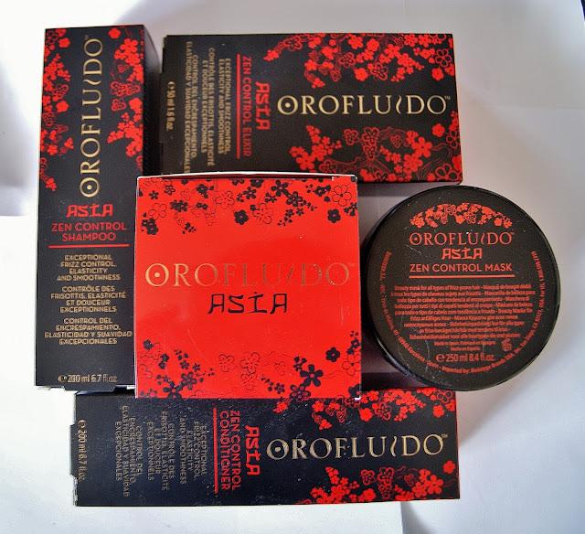 Orofluido Asia Zen Control Shampoo, Conditioner, Mask, Elixir Haircare, Beauty, Review, Revlon, Toronto, Ontario, Canada, The Purple Scarf, MelaniePs