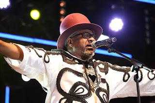 Papa Wemba juste avant sa mort, Kinshasa