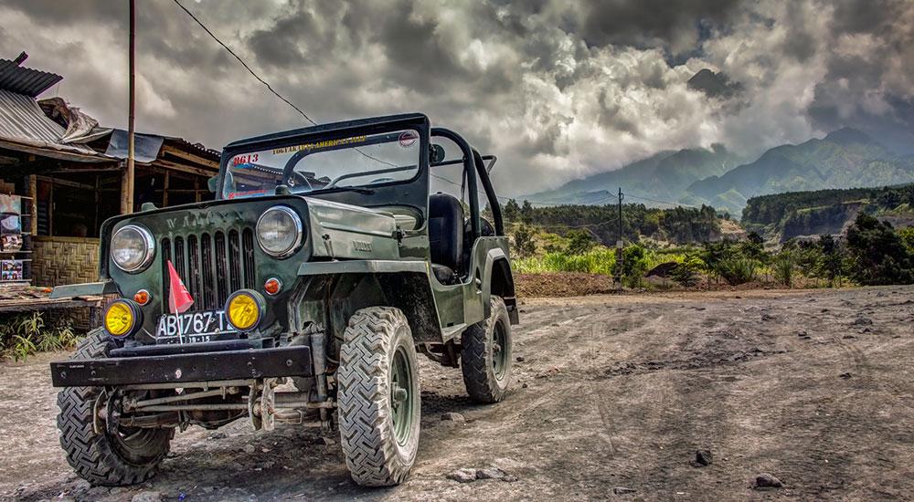 sewa dan rental jeep gunung merapi