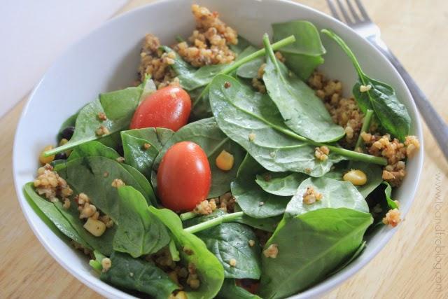 Tex Mex Quinoa Salad in a Jar Recipe