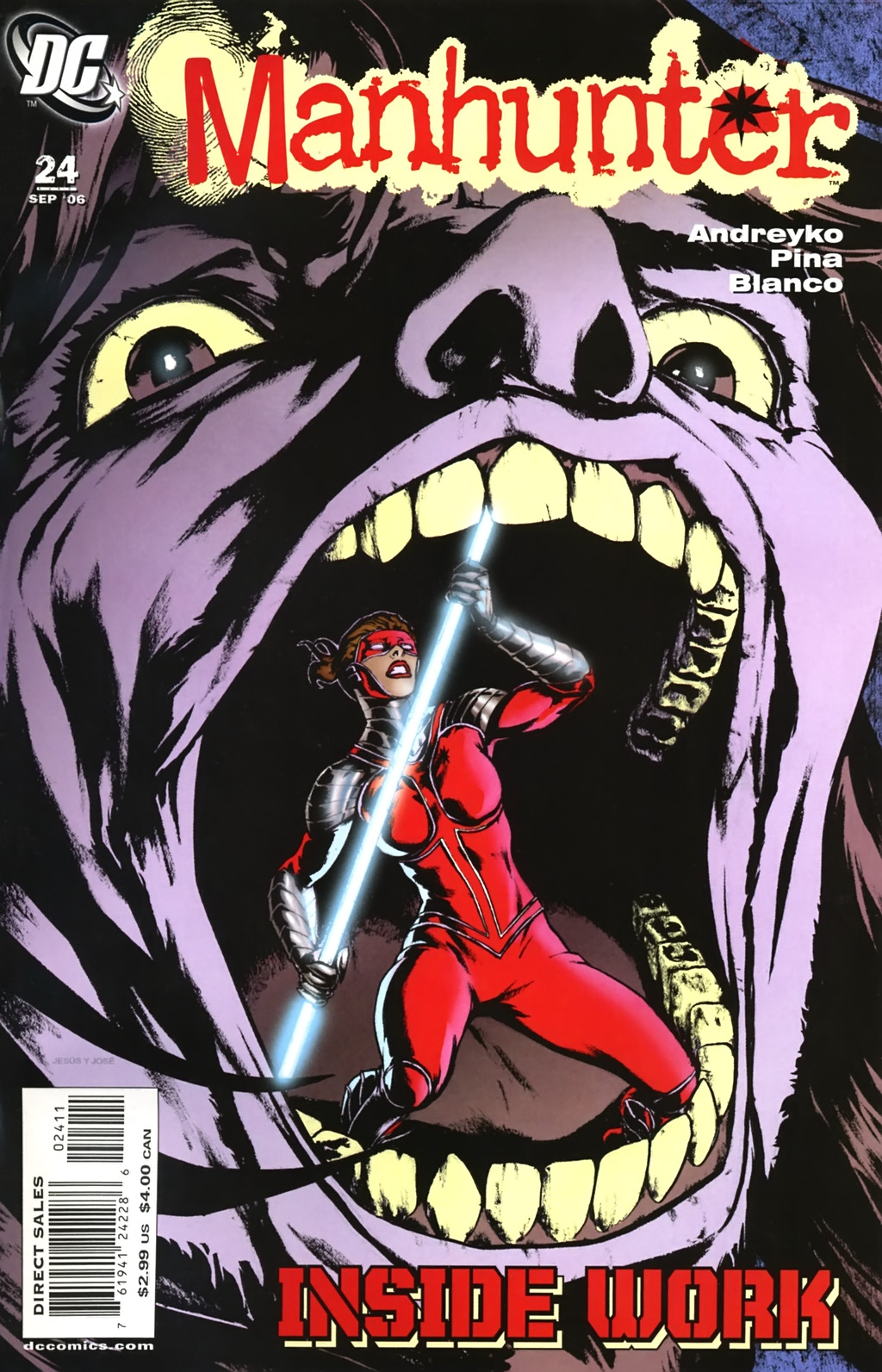 Manhunter (2004) issue 24 - Page 1