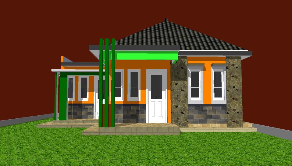 cara desain rumah dengan sketchup 8   desain rumah mesra