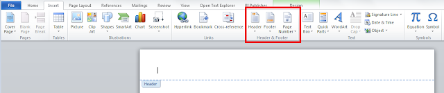 Headers and Footers in BI/XML Publisher