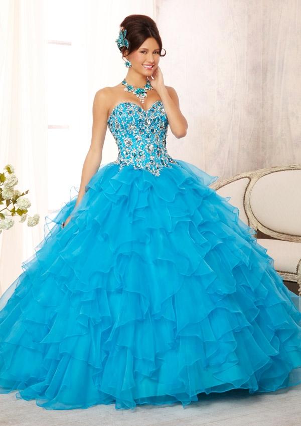 Vestidos de 15 muy bonitos