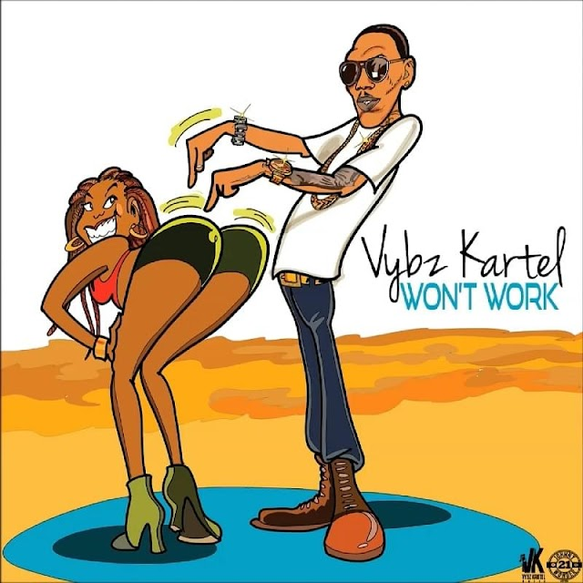 Vybz Kartel - Won't Work (Clean + Dirty) - PROMO Single