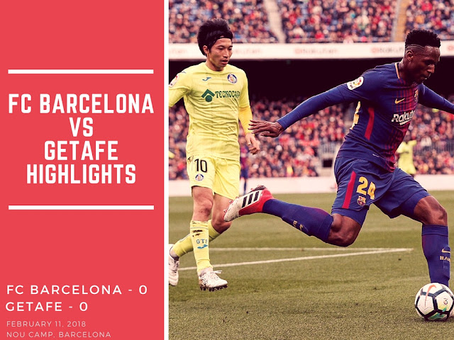 FC Barcelona was held onto a goalless draw at Camp Nou by Getafe. Watch the full highlights