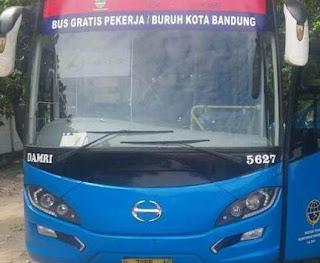 Bus Gratis Karyawan Gratis Bandung