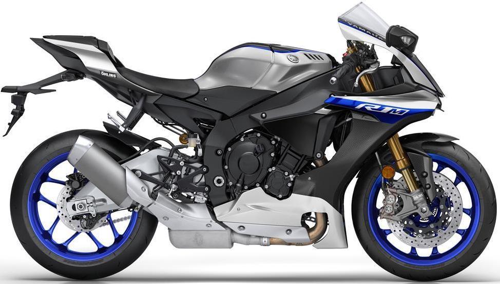 New Yamaha R1 dan R1M 2017 akan hadir dengan pilihan warna dan grafis baru . .