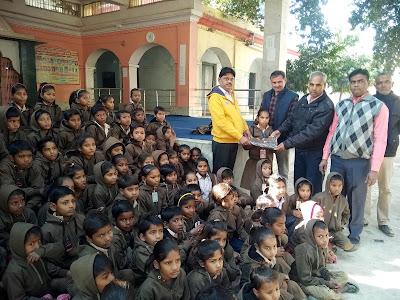 Hot jars distributed to needy children,