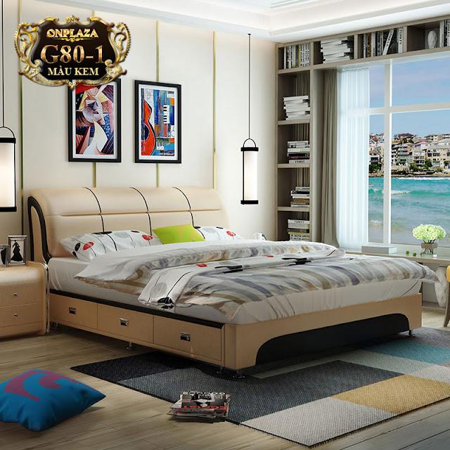 mẫu giường ngủ G79