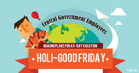 Central-Government-Employees-Good-friday-Holi-Holidays-7CPC