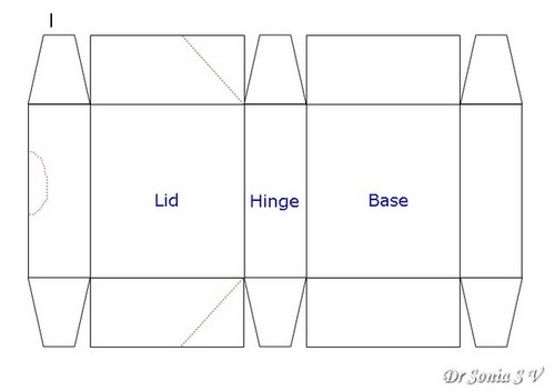 Cards ,Crafts ,Kids Projects: Hinged Box Tutorial