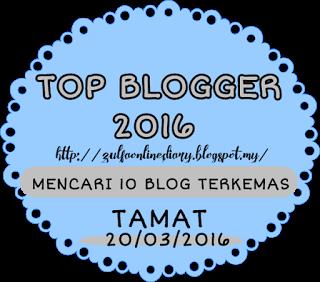 Segmen Top Blogger 2016