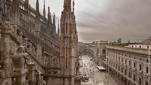 Visitar Milan terraza Duomo Italia turismo