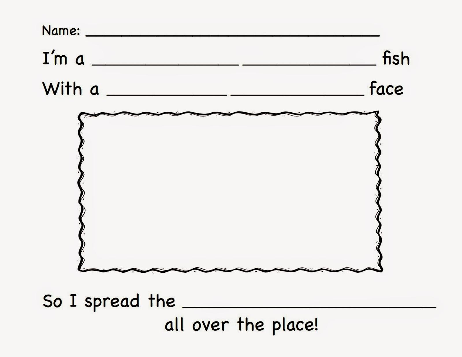 ECED: The Pout-Pout Fish: The Pout-Pout Fish Activity