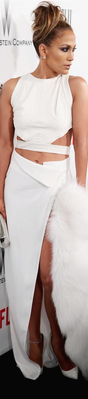 Jennifer Lopez 2015 Golden Globe Awards Party