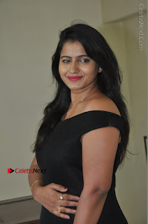 Telugu Actress Swathi Reddy Latest Stills in Black Gown  0035.JPG