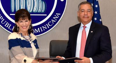 República Dominciana y Estados Unidos firman acuerdo para facilitar inversiones de empresas estadounidenses en el país