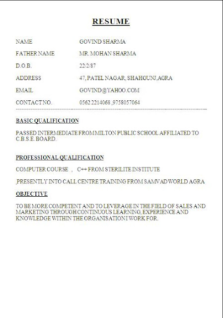 biodata format for student free download bestcvformats – Free Download Biodata Format