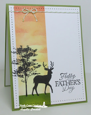 North Coast Creations Deer Silhouette Greetings, Our Daily Bread designs Good Man, Card Designer Angie Crockett