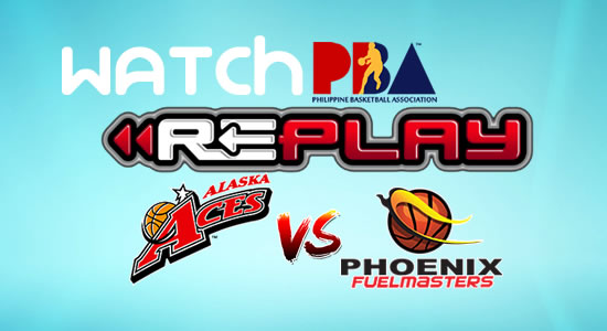 Video List: Alaska vs Phoenix game replay January 28, 2018 PBA Philippine Cup