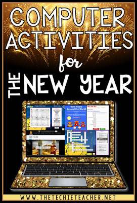 Computer activities for the New Year! Students can use Chromebooks, laptops or desktop computers since these are easy to use and engaging websites.